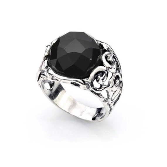 Etsy Onyx Ring