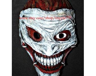 Joker Arkham, Joker 52 Mask, Joker Costume, Joker Cosplay, Halloween Costume, Halloween Cosplay, DJ mask, Batman Halloween Mask MA173