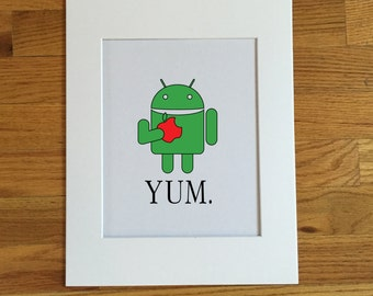 "ANDROID Poster Print 14"" X 11"""