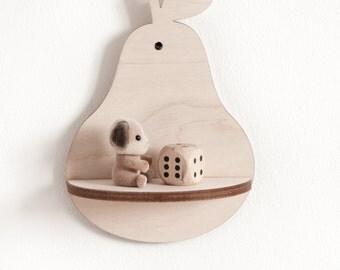 Little Pear Shelf - Natural