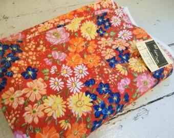 Vintage Fabric, Cotton Blend, 3 1/2 Yards