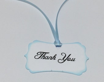 Baby Shower Thank You Tags -Baby Shower Tags - Baby Shower - Shower Favor Tags - Wedding Thank You Tags - Set Of 20