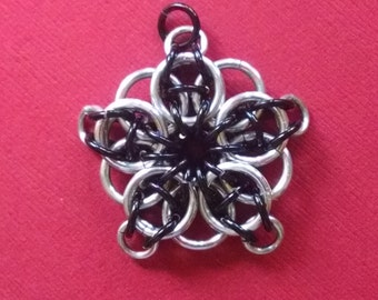 Celtic Visions Star Chainmaille Pendant Necklace