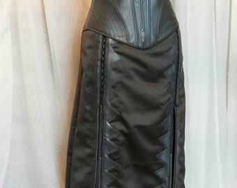LEGEND Of The SEEKER Kahlan's Corset replica Faux-leather Medieval armor bustier CUSTOM Made
