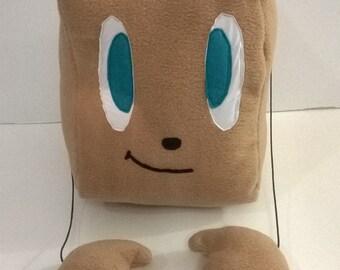 Tiny Box Tim Plushie - Markiplier Animated - Stuffed Toy - Pillow