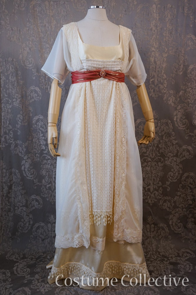 Elegant Titanic Style Dresses Amp Costumes For Sale Downton Abbey Tea Party Gown