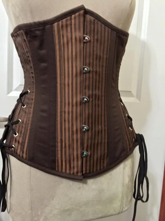 Steampunk Underbust Hip Lacing Corset