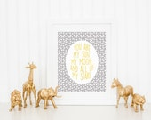 DIGITAL You Are My Sun, My Moon, & All of my Stars Outer Space Nursery Print, Grey Print for Baby Room, Gender Neutral Wall Decor - ANY SIZE