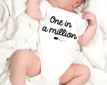 Baby onesie, one in a million