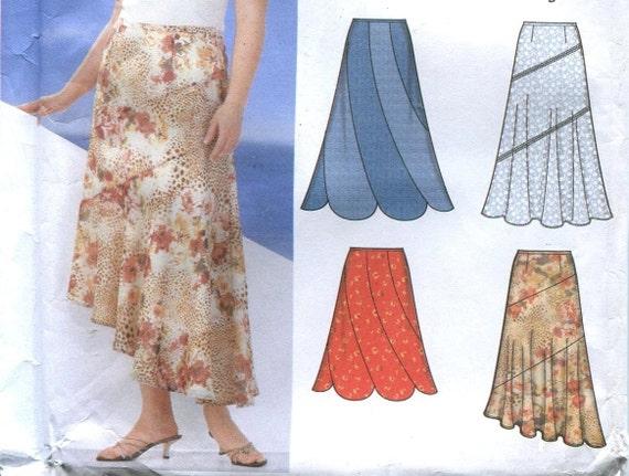 womens plus size skirt pattern simplicity 5510 size 18w 20w