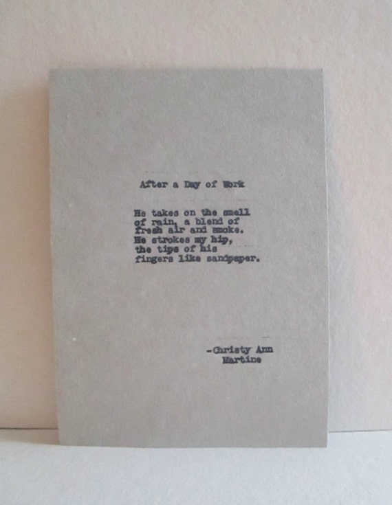 Haiku - Romantic Sayings Quotes - Typewriter Quotes Typed by Poet