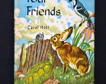 The Four Friends, Vintage Childrens Book, 1958