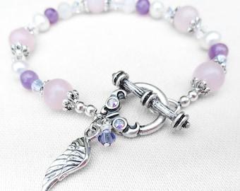 Miscarriage Bracelet, Pregnancy Loss Bracelet, Memorial Jewelry, A Thoughtful Gift! Mamma to an Angel Bracelet, Fertility Bracelet