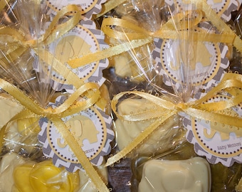 80 Elephant Soaps (40 Favors), Shower Favors, Elephant Soaps, Party Favors, Baby Shower Favors