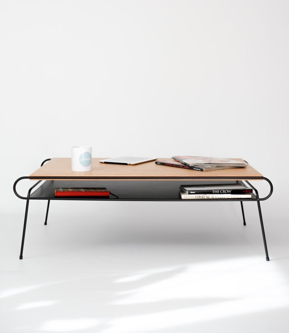 Classic Mid Century Modern Coffee Table / Center By Habitables