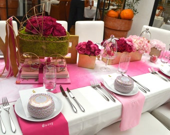 Personalize a Napkin - add an Initial, Monogram or a Name to your Napkins