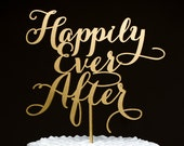 Wedding Cake Topper - Happily Ever After- Soirée Collection