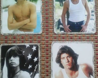Scrapbook Pages John Travolta Scott Baio Steven Tyler Rob Lowe Card Making Vintage Pics