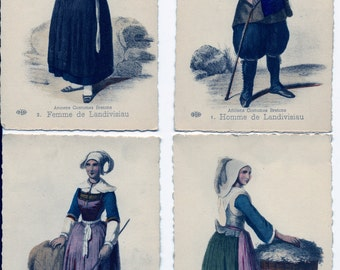 E le Delay, ELD, French Postcard Images, French Postcards, 19th Century Postcards, French School, 1800's Postcards, Antique French Postcards