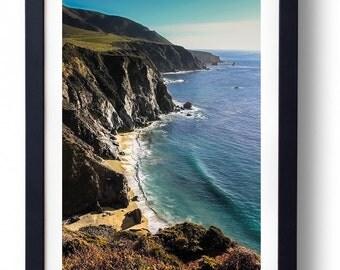 Big Sur California Coast Fine Art Photography Ocean Beach Flower spring Sand bixby bridge Carmel Wall Art Amanda Lackides Canvas Wrap