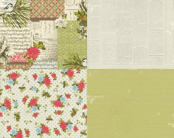 SALE! Believe Paper Pack from Authentique - 12 Sheets