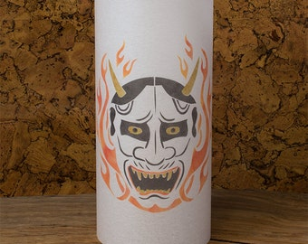 Hannya mask Lamp - Japanese Hannya Mask lamp