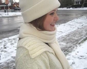 Polartec Fleece Tassle Hat