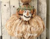 INSTANT Download Pumpkin Doll Pattern Primitive Jack O Lantern Jester Digital Patterns Vintage JOL Halloween Cloth Fabric Kim Kohler Veenas
