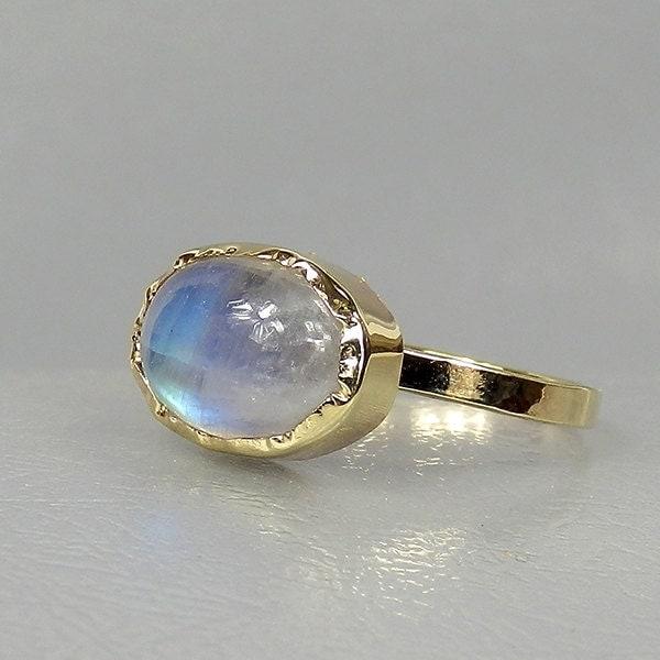 moonstone jewelry gold - photo #11
