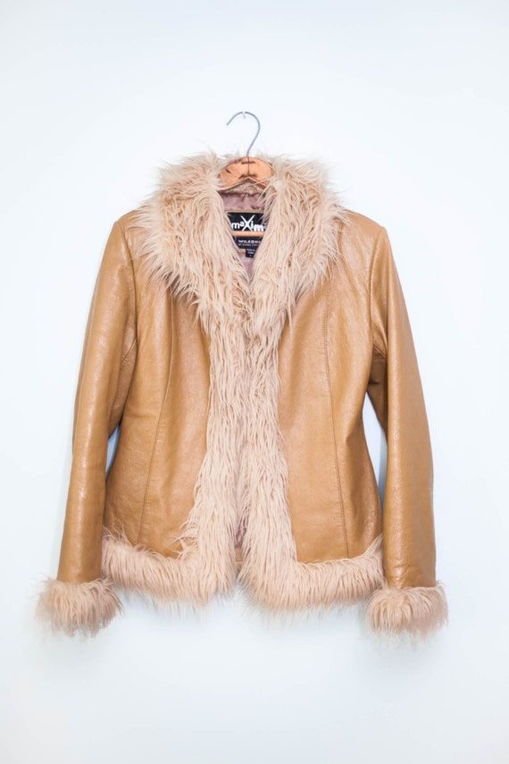 women's light c... Leather Jackets For Women Light Brown