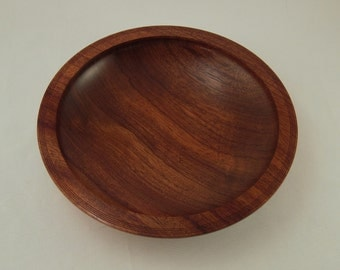 Bubinga Wood Bowl,African Wooden,Fine Art Woodworking,Lathe Turned,Eccentric Old Guy,Kwanzaa Gifts,Black Cultural,Unique Birthday,Decor,1285