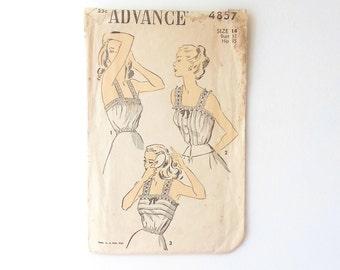 vintage camisole undergarment sewing pattern