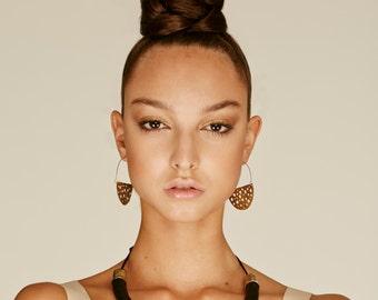 Hoop Earrings, Crescent hoops, Boho earrings, african hoop, african jewelry, tribal earrings, gypsy earrings, boho earrings,