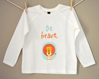 "T-Shirt longsleeve ""Lion"""