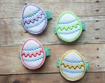 Easter Egg Hair Clip