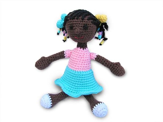 Amigurumi Doll Hair Bun : Items similar to PDF Pattern Crochet Doll, Amigurumi Doll ...