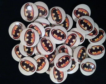 BATMAN button - Vintage BATMAN badge - 1989 DC Comics Inc