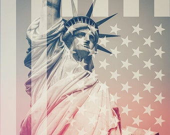 New york photography,statue of liberty,NYC,New york city,Vintage,Wall art,print,poster,Art print,photograph,living room decor