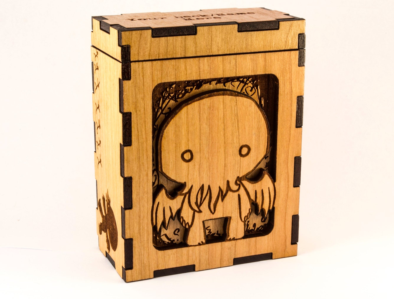 Cthulhu Chibi  H P Lovecraft  Magic The Gathering Deck Box Or Dice Box   Mtg