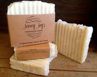 Chamomile Olive Oil Soap 4-5 oz. bar