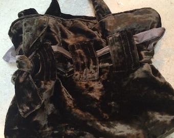 A Pretty Velvet Bag