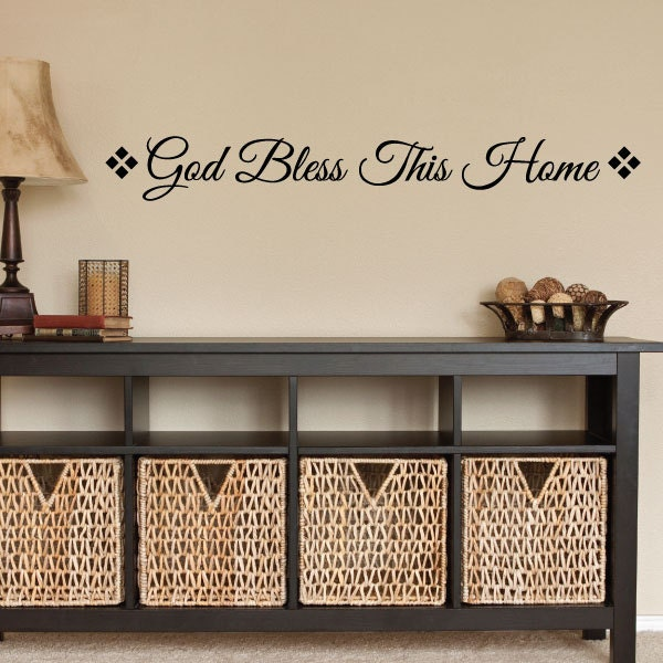 god bless this home wall decor 0033 wall by. Black Bedroom Furniture Sets. Home Design Ideas