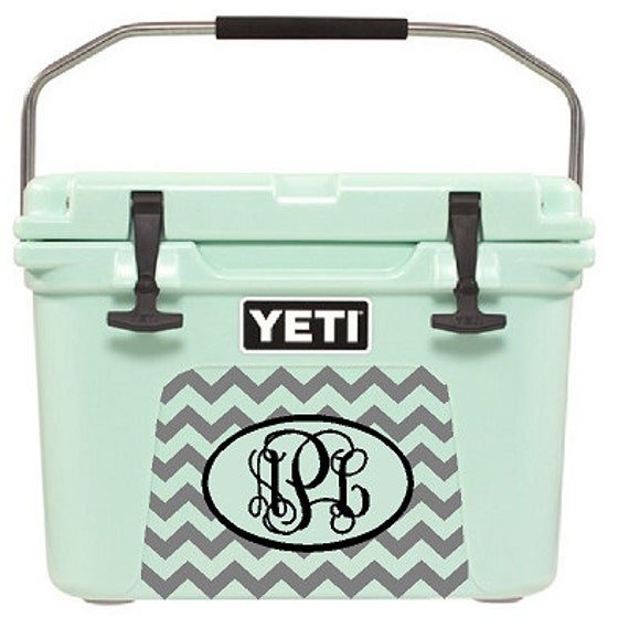 Items Similar To Chevron Yeti Cooler Decal Orca Cooler