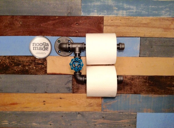 Man Cave Toilet Paper Holder : Industrial toilet paper holder home by