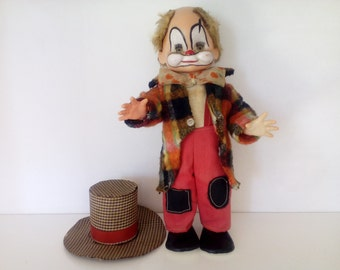 Vintage Clown Doll.