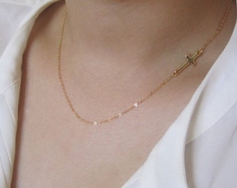sale,cross necklace, gold necklace, gift idea, birthday gift.