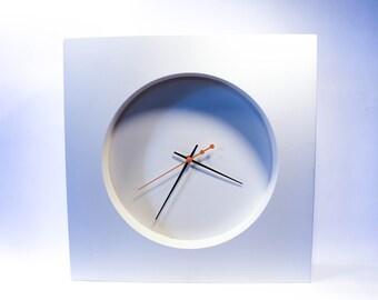 Modern White Clock