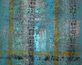 Metallic 3, painting on canvas