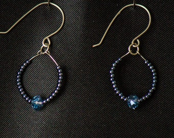 Unique, hand crafted earrings.