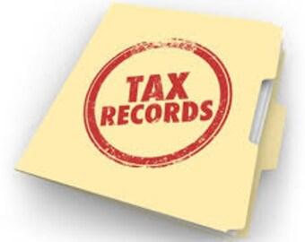 Year End Tax Organizer
